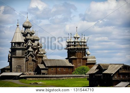 Church of the Transfiguration, island of Kizhi, Karelia, Russia
