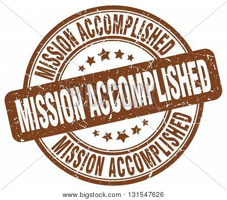mission accomplished brown grunge round vintage rubber stamp.mission accomplished stamp.mission accomplished round stamp.mission accomplished grunge stamp.mission accomplished.mission accomplished vintage stamp.
