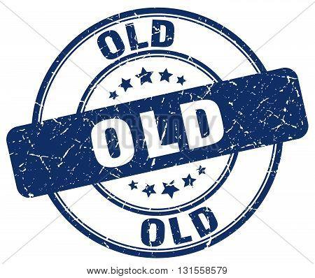 old blue grunge round vintage rubber stamp.old stamp.old round stamp.old grunge stamp.old.old vintage stamp.