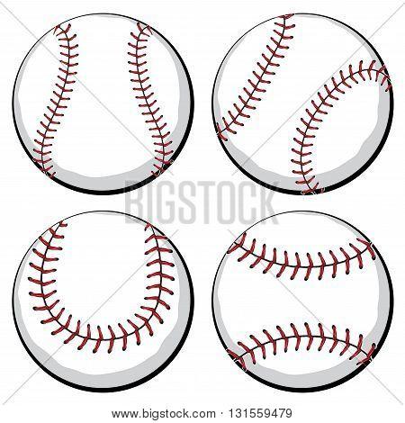 Baseball Ball Set