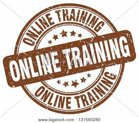 online training brown grunge round vintage rubber stamp.online training stamp.online training round stamp.online training grunge stamp.online training.online training vintage stamp.