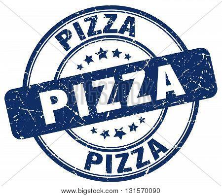 pizza blue grunge round vintage rubber stamp.pizza stamp.pizza round stamp.pizza grunge stamp.pizza.pizza vintage stamp.