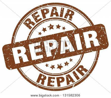 repair brown grunge round vintage rubber stamp.repair stamp.repair round stamp.repair grunge stamp.repair.repair vintage stamp.