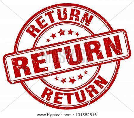 return red grunge round vintage rubber stamp.return stamp.return round stamp.return grunge stamp.return.return vintage stamp.