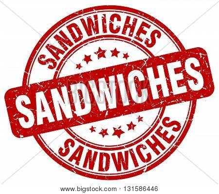 sandwiches red grunge round vintage rubber stamp.sandwiches stamp.sandwiches round stamp.sandwiches grunge stamp.sandwiches.sandwiches vintage stamp.