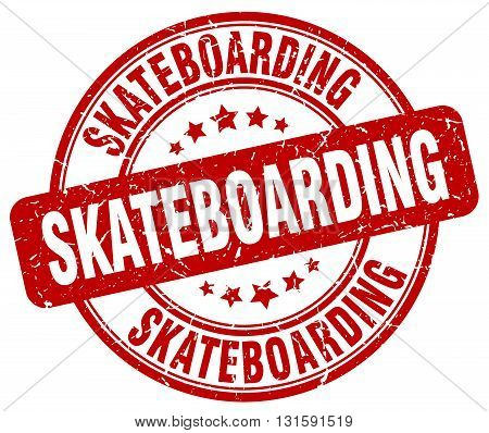 skateboarding red grunge round vintage rubber stamp.skateboarding stamp.skateboarding round stamp.skateboarding grunge stamp.skateboarding.skateboarding vintage stamp.