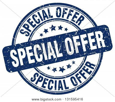 special offer blue grunge round vintage rubber stamp.special offer stamp.special offer round stamp.special offer grunge stamp.special offer.special offer vintage stamp.
