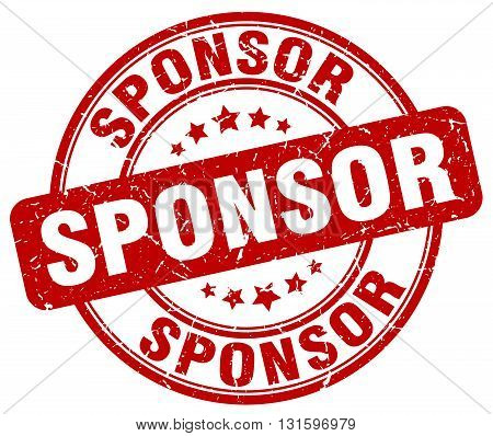 sponsor red grunge round vintage rubber stamp.sponsor stamp.sponsor round stamp.sponsor grunge stamp.sponsor.sponsor vintage stamp.