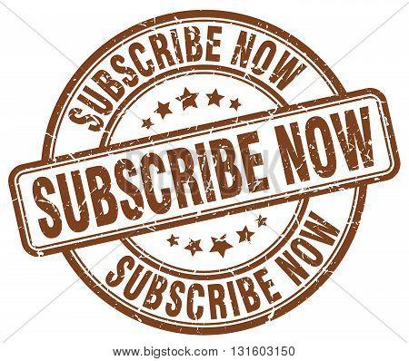 subscribe now brown grunge round vintage rubber stamp.subscribe now stamp.subscribe now round stamp.subscribe now grunge stamp.subscribe now.subscribe now vintage stamp.