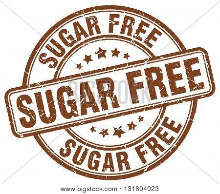 sugar free brown grunge round vintage rubber stamp.sugar free stamp.sugar free round stamp.sugar free grunge stamp.sugar free.sugar free vintage stamp.