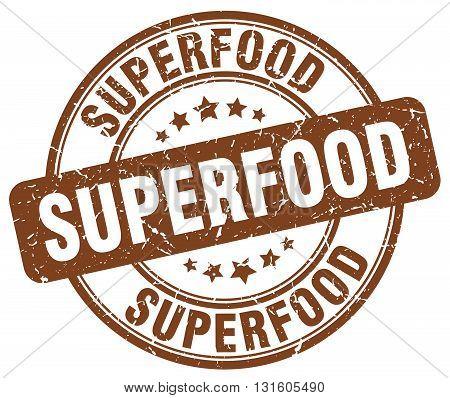 superfood brown grunge round vintage rubber stamp.superfood stamp.superfood round stamp.superfood grunge stamp.superfood.superfood vintage stamp.