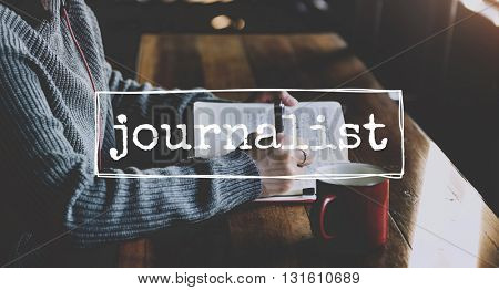Leisure Journal Journalism Ideas Express Yourself Concept