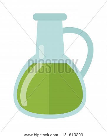 Glass carafe isolated on white background. Carafe with liquid drink bottle beverage and transparent carafe with liquid. Carafe with liquid alcohol reflection drink bar jug. Glassware container.