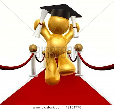Red carpet to double degree
