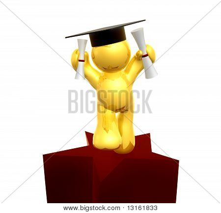 Graduated with double degree