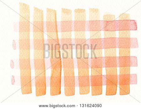 layered red yellow brush stroke watercolor pattern background