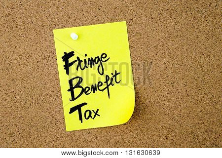 Business Acronym Fbt Fringe Benefit Tax