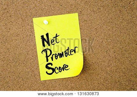 Business Acronym Nps Net Promoter Score