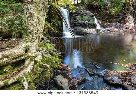 Rock River Falls in the Upper Peninsula of Michigan