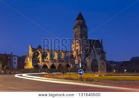 Church of Le Vieux Saint Etienne Caen Normandy France