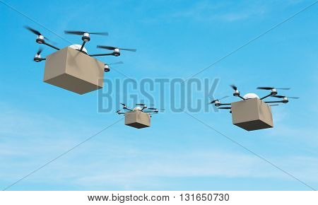 Quadrocopters With Boxes