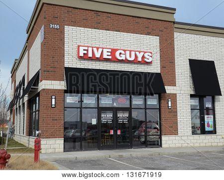 Five Guys South Ann Arbor Store