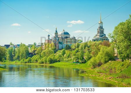 One of the oldest monasteries in Russia - Boris and Gleb Monastery in Torzhok