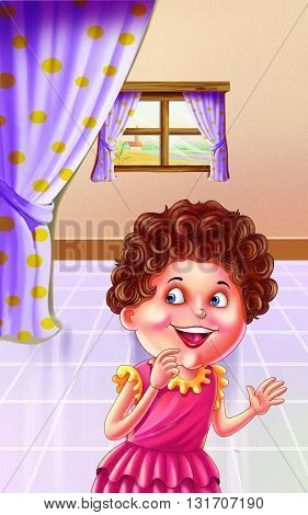 Chubby Cheeks Nursery Rhyme for kids (Happy Kids) poster