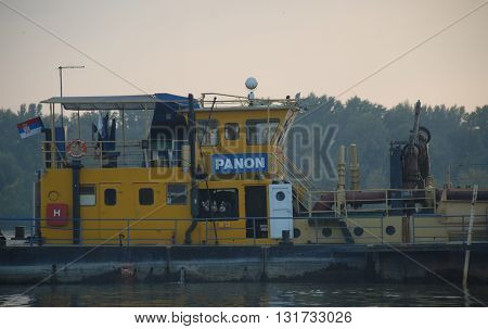 panon, Beograd, belgrade, river, boat, ship, riverboat, naval, navy, marine, vessel, water, swim, serbia, transport, sava, duna