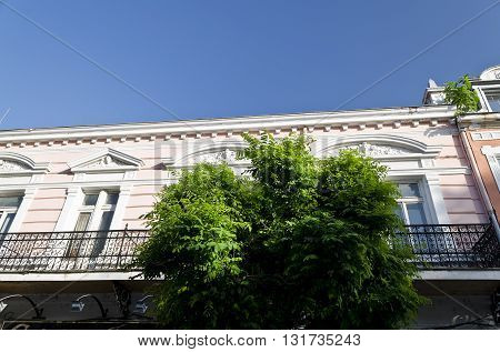 Building neoclassical style late 19th century Bulgaria Ruse