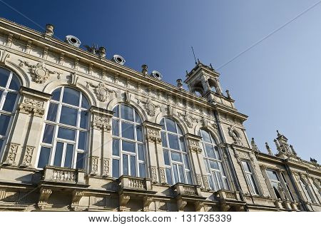 The Opera of the town of Ruse in Bulgaria a historical baroque building