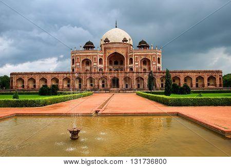 Humayun's Tomb In New Delhi, India