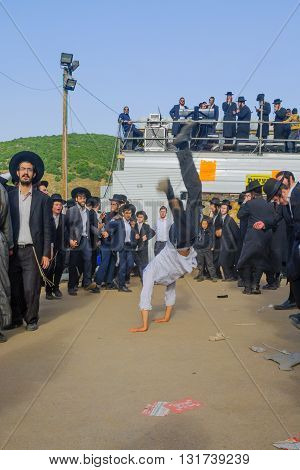Lag Baomer On Mount Meron 2016