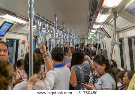 Mrt Subway Train