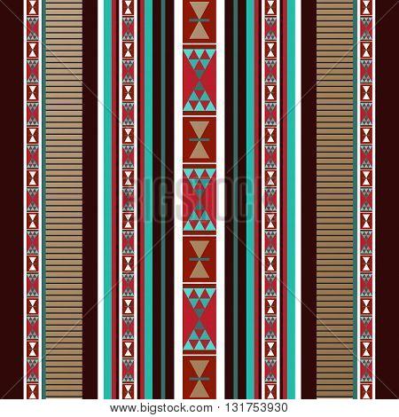A Detailed Decorative Arabian Style Sadu Rug