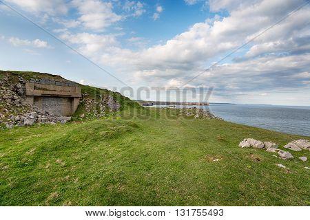 Bunker At St Govan's Head