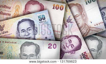 Thai Baht Background