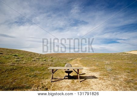 Office In The Middle Of Nowhere
