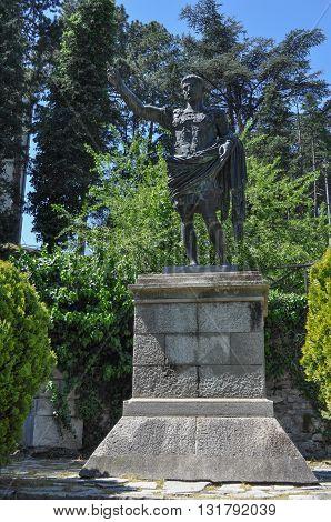 Caesar Augustus Statue In Susa