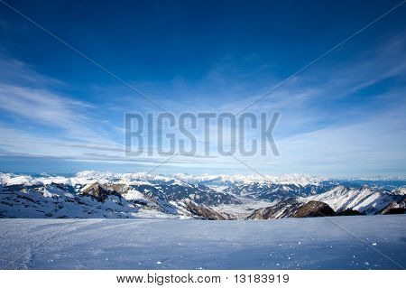 View From Kitzsteinhorn Peak, Alps