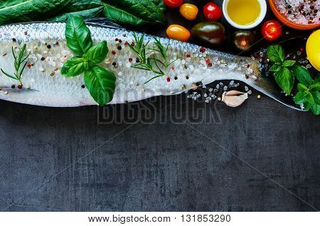 Fresh Fish With Spices