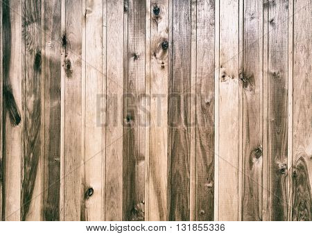 Background image from planks in natural wood with pronounced structure of the wood.