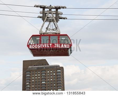 Roosevelt Island Cable Tram Car