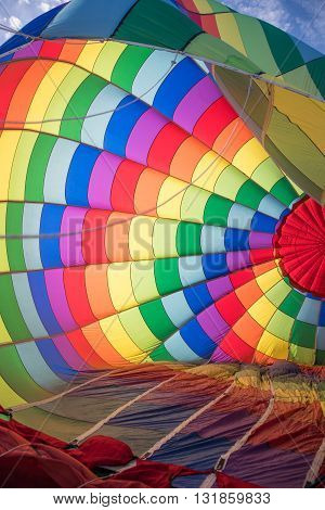 EL PASO - MAY 29.  The 2016 El Paso Balloon Festival was held at the Bowen Ranch May 29, 2016 in El Paso, Texas.