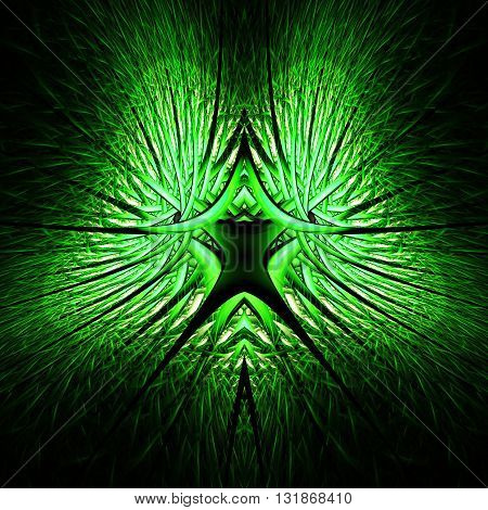Abstract human lung. Electrical conductors. Firework sparks and lightning. Mysterious psychedelic relaxation wallpaper. Fractal abstract pattern. Digital artwork creative graphic design.