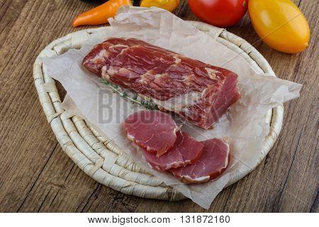 Dry Cured Pork Fillet