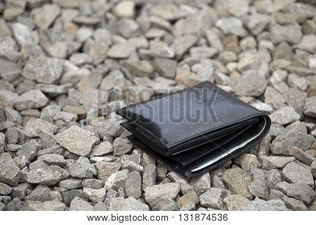 Lost Black Wallet