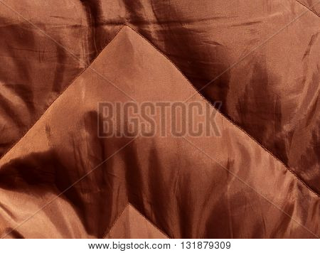 Abstract Brown Cloth Texture.