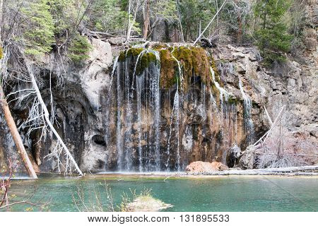 Geological Wonder in Glenwood Springs named Hanging Lake