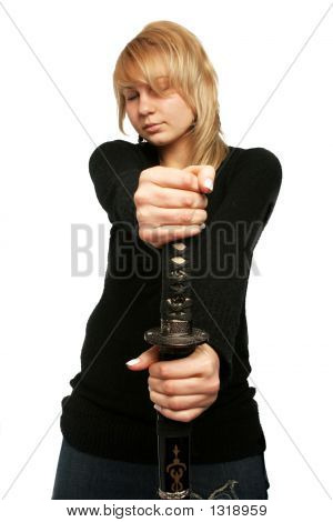 Woman And Weapon